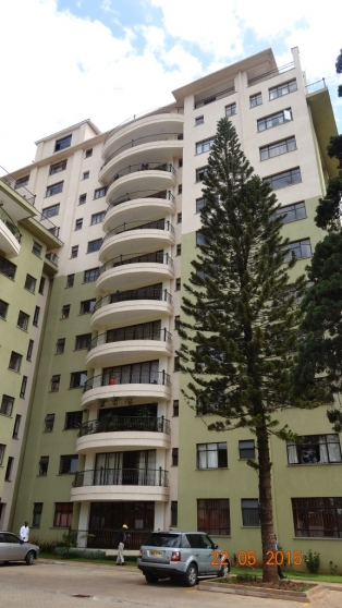 2 bedroomed Fully furnished apartment in Kilimani R720